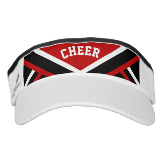 Cheerleader Outfit in Red Visor