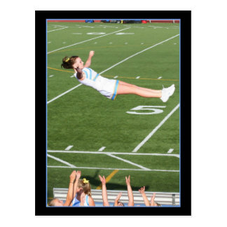 Cheerleader Postcard