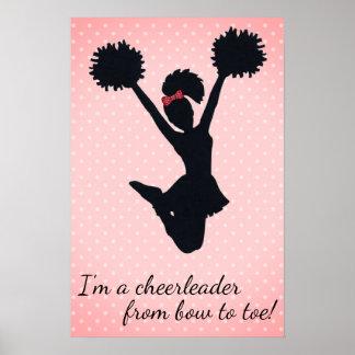 Cheerleader Poster