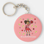 Cheerleader Princess Key Chain