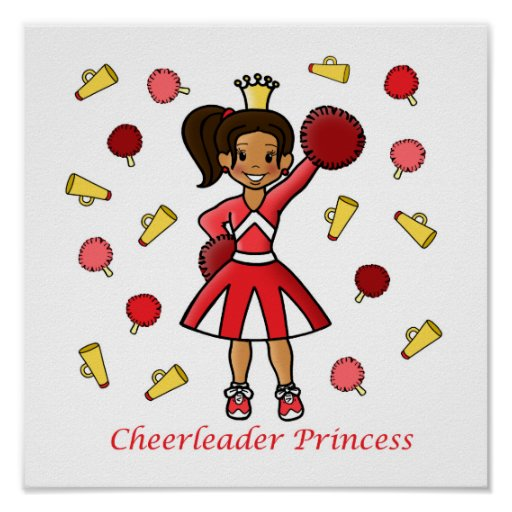 Cheerleader Princess Poster