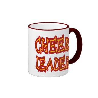 Cheerleader Ringer Mug