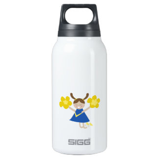 Cheerleader 10 Oz Insulated SIGG Thermos Water Bottle