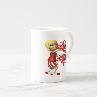 Cheerleader Porcelain Mugs