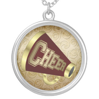 Cheerleader - SRF Silver Plated Necklace