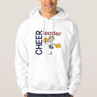 Cheerleader Stick Figure Pullover
