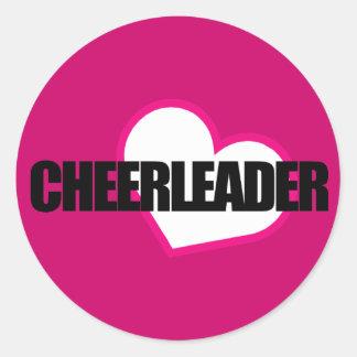 Cheerleader Sticker