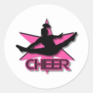 Cheerleader Stickers