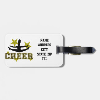 Cheerleader Tag For Luggage
