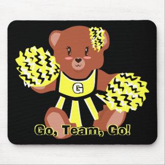 Cheerleader Teddy Bear Mousepad