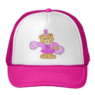 Cheerleader Teddy Bear Trucker Hat
