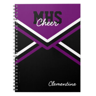 Cheerleader Uniform School Notebook