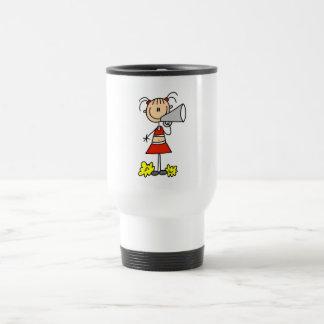Cheerleader with Megaphone Tshirts and Gifts Travel Mug