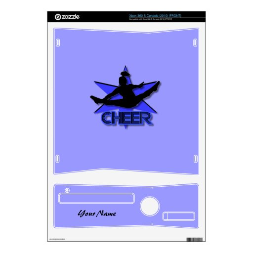Cheerleader xbox 360 S console skin