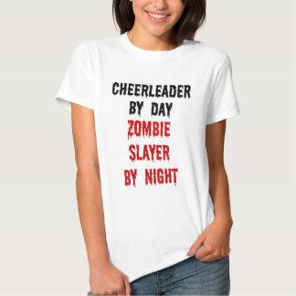 Cheerleader Zombie Slayer Shirts