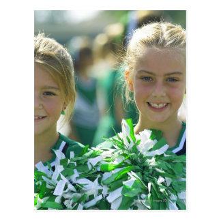 Cheerleaders 2 postcard