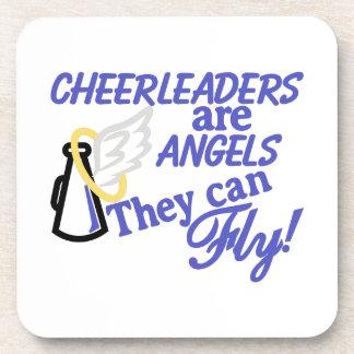 Cheerleaders Are Angels Beverage Coaster