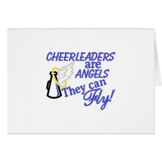 Cheerleaders Are Angels Card