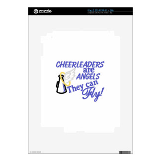 Cheerleaders Are Angels Decal For The iPad 2