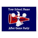 Cheerleader's Card