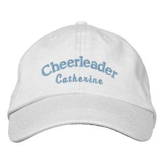 Cheerleader's Custom Blue Embroidered Ball Cap