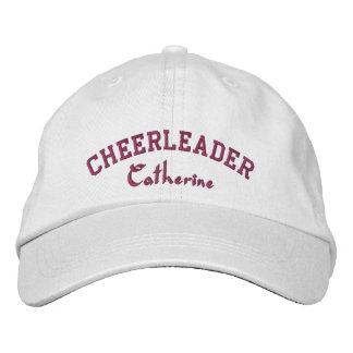 Cheerleader's Custom Embroidered Ball Cap