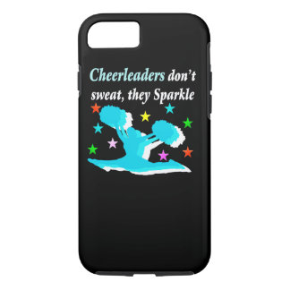 CHEERLEADERS DON'T SWEAT THEY SPARKLE iPhone 8/7 CASE
