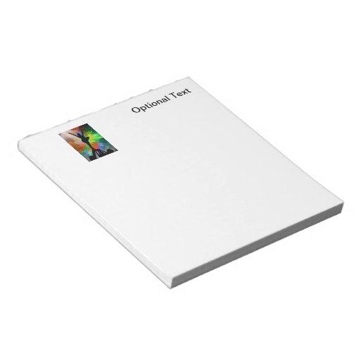 Cheerleaders in a Colorburst Notepad