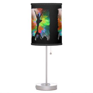 Cheerleaders in a Colorburst Table Lamp