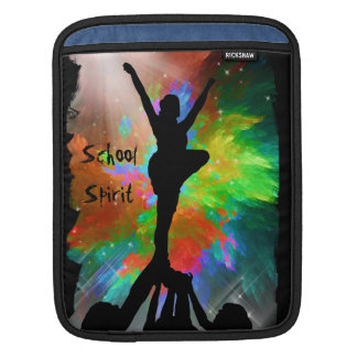 Cheerleaders in Colorburst Sleeve For iPads