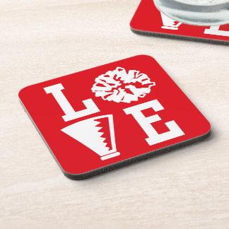 Cheerleader's Love Drink Coaster