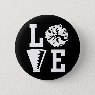 Cheerleaders Love Pinback Button