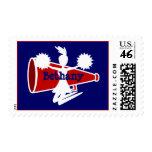 Cheerleader's Postage Stamps