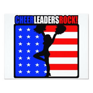 Cheerleaders Rock! Card