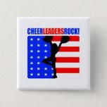 Cheerleaders Rock! Pinback Button