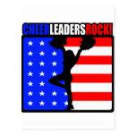 Cheerleaders Rock! Postcard