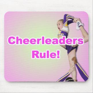Cheerleaders Rule Mouse Pad