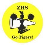 Cheerleader's Stickers
