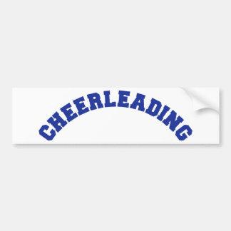 Cheerleading Bumper Sticker
