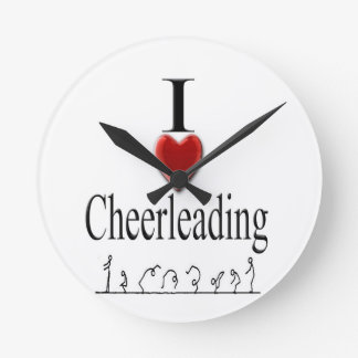 Cheerleading clock 1,  Copyright Karen J Williams