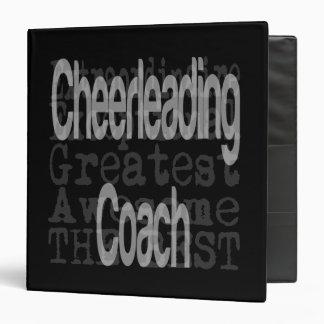 Cheerleading Coach Extraordinaire Vinyl Binder