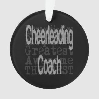 Cheerleading Coach Extraordinaire Ornament