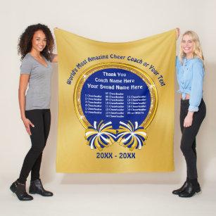 cheerleading coach gift ideas all cheerleaders fleece blanket