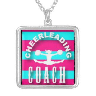 Cheerleading Coach pendant, cheer jewelry