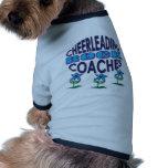 Cheerleading Coaches Rock Gifts Doggie Tee Shirt