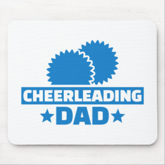 Cheerleading Dad Mouse Pad