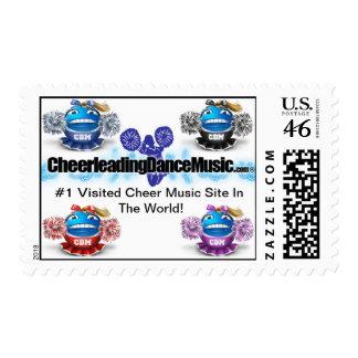 Cheerleading Dance Music Swag Stamp 1