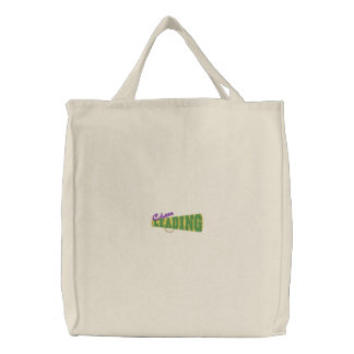 Cheerleading Embroidered Tote Bag