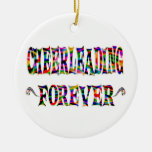 Cheerleading Forever Christmas Ornaments