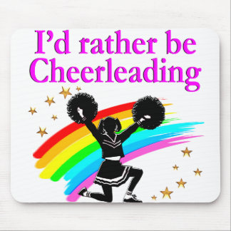 CHEERLEADING FOREVER MOUSE PAD